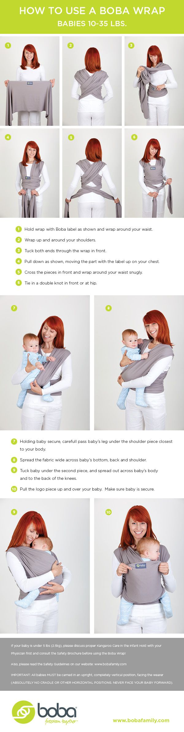 moby wrap instructions video