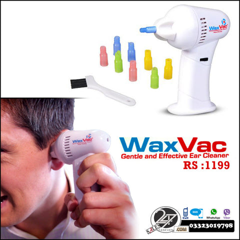 waxvac ear cleaner instructions