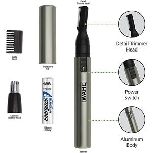 wahl micro groomsman lithium instructions