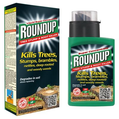 roundup tree stump and root killer instructions