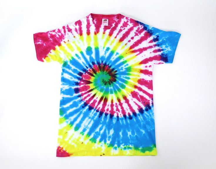after tie dye instructions