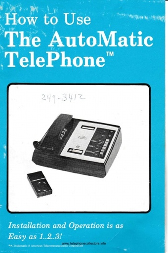 bell answering machine instructions