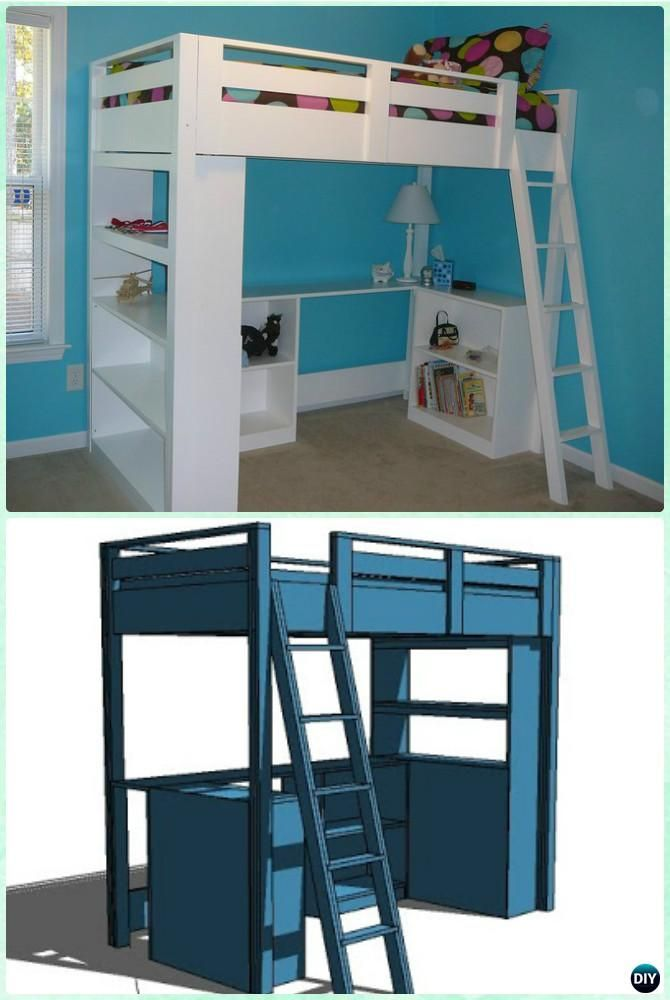 bunk bed instructions plans