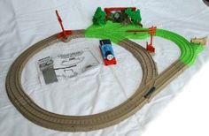 thomas the train jump track instructions