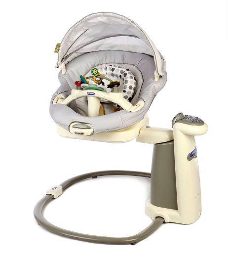 graco soothing vibration swing instructions