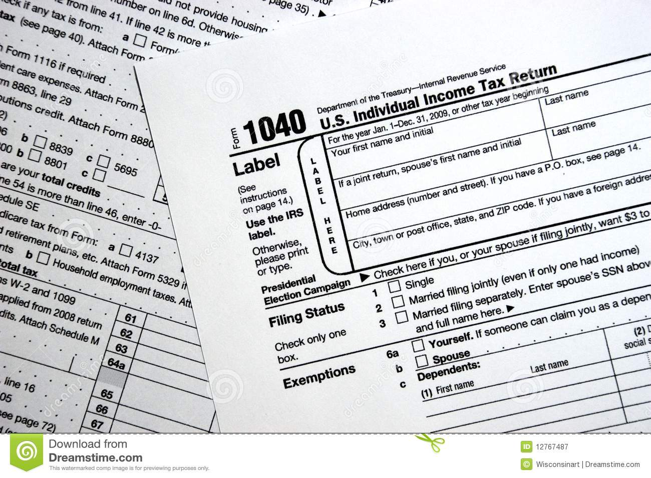 irs tax form 1040 instructions