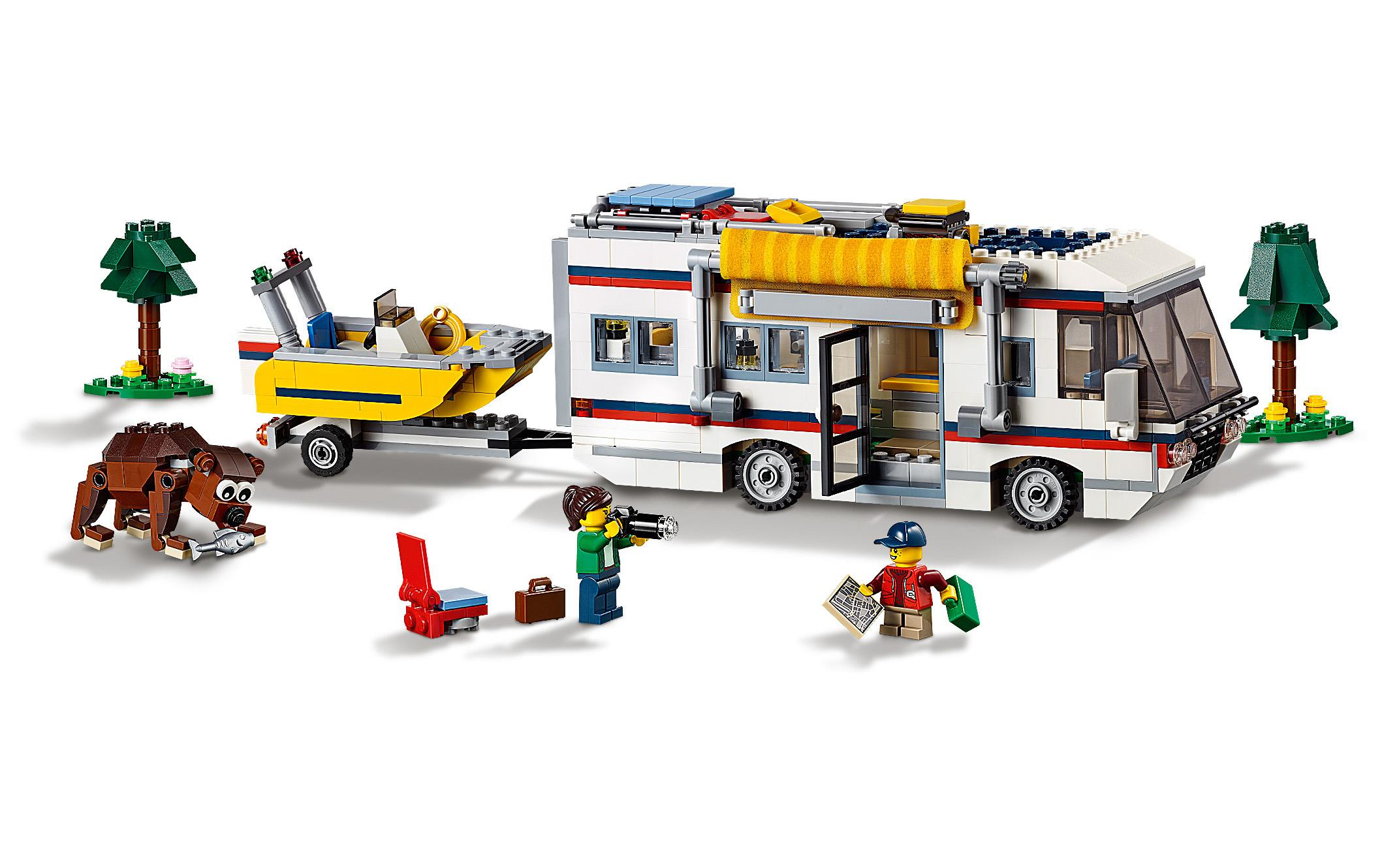 lego creator vacation getaway instructions