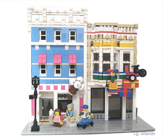 lego ice cream shop instructions