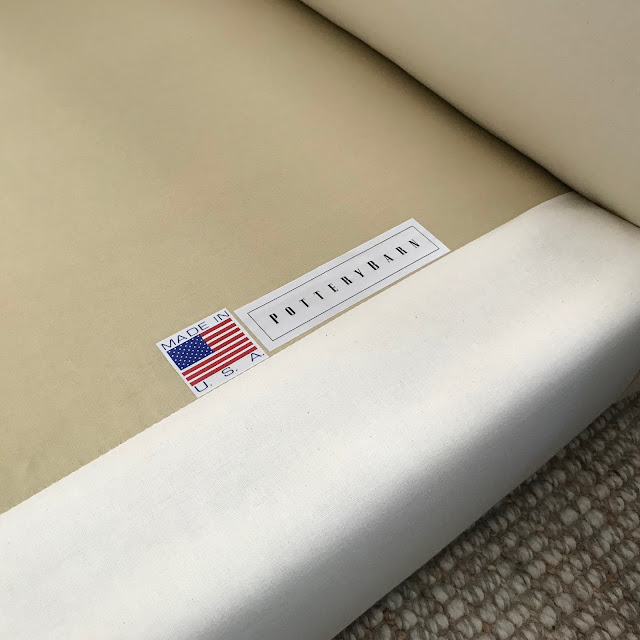 pottery barn anywhere chair cover washing instructions
