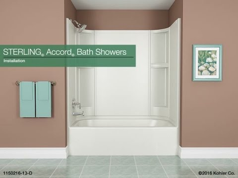 sterling accord shower installation instructions