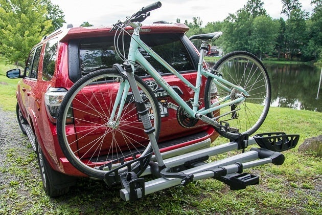 thule bicycle rack instructions